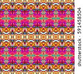 seamless colorful pattern for... | Shutterstock . vector #591458504