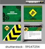 under construction web site... | Shutterstock .eps vector #59147254