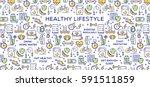 Healthy Lifestyle Vector...