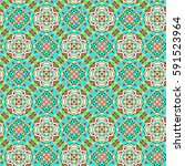 sloping seamless colorful... | Shutterstock . vector #591523964