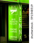 bus tickets to city  phone...   Shutterstock . vector #591548519
