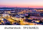 aerial view through the... | Shutterstock . vector #591564821