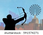 digital composition of... | Shutterstock . vector #591574271