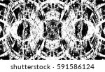 grunge black and white urban... | Shutterstock .eps vector #591586124