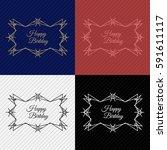 modern  colorful  premium title ... | Shutterstock .eps vector #591611117