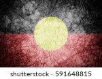 grunge australian aboriginal... | Shutterstock . vector #591648815