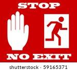 Illustration Of Stop Signal ...