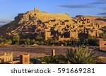 old city ramparts of ait... | Shutterstock . vector #591669281