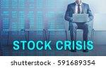 forex stock crisis venture | Shutterstock . vector #591689354