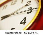 Small photo of Clock closeup