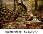 A Stream Flows Through The...