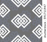endless abstract pattern.... | Shutterstock .eps vector #591711947