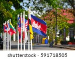 Small photo of Flags of the ASEAN Community