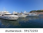 very expensive luxury yachts in ... | Shutterstock . vector #59172253