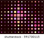 seamless pattern with different ... | Shutterstock .eps vector #591730115