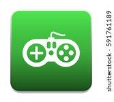 gamepad icon | Shutterstock .eps vector #591761189