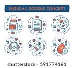 doodle vector illustrations of...   Shutterstock .eps vector #591774161