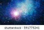 high definition star field... | Shutterstock . vector #591775241