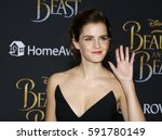 Small photo of Emma Watson at the Los Angeles premiere of 'Beauty And The Beast' held at the El Capitan Theatre in Hollywood, USA on March 2, 2017.