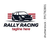 race car logo | Shutterstock .eps vector #591782801