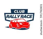 race car logo | Shutterstock .eps vector #591782831