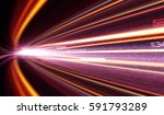 3d illustration. moving data... | Shutterstock . vector #591793289