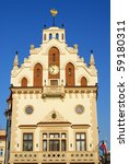 old town hall in rzeszow  poland | Shutterstock . vector #59180311