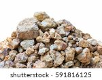 pile rock isolated. | Shutterstock . vector #591816125