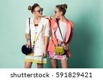 Fashion Spring Image Of Two...