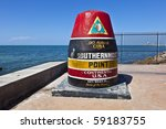 Southernmost Point Marker  Key...