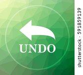 undo icon. undo website button...   Shutterstock . vector #591859139