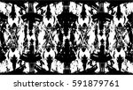 grunge black and white urban... | Shutterstock .eps vector #591879761