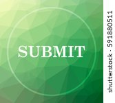 submit icon. submit website... | Shutterstock . vector #591880511