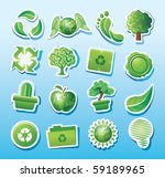 ecology icons | Shutterstock .eps vector #59189965
