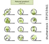 natural product vector labels...