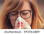 Small photo of Seasonal allergies and health problems / issues.