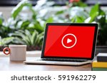 video marketing | Shutterstock . vector #591962279