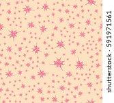stylized cobweb seamless...   Shutterstock .eps vector #591971561