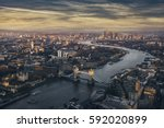 London View At The Dusk