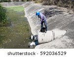 nakhon ratchasima  thailand  ... | Shutterstock . vector #592036529