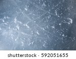 ice hockey rink scratches... | Shutterstock . vector #592051655