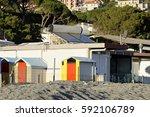 detail of bathing box in... | Shutterstock . vector #592106789
