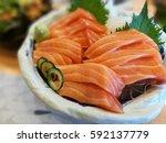 shashimi salman    Shutterstock . vector #592137779