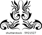abstract decoration... | Shutterstock . vector #5921527