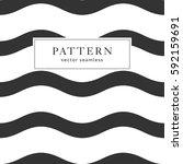 waves geometric seamless... | Shutterstock .eps vector #592159691