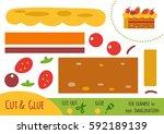 education paper game for... | Shutterstock .eps vector #592189139