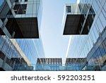 modern office building | Shutterstock . vector #592203251