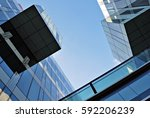 modern office building | Shutterstock . vector #592206239