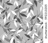 vector seamless floral pattern  ...   Shutterstock .eps vector #592213205
