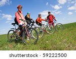 a group of four adults on... | Shutterstock . vector #59222500